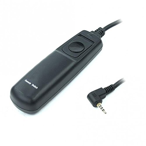 subtel® Fernauslöser kompatibel mit Panasonic Lumix DC-G9, Lumix DMC-FZ1000 -FZ200 -FZ2000 -FZ300, Lumix DMC-G5 -G6 -G7 -G70 DMC-G81, Lumix DMC-GH2 -GH4 -GH4, DC-GH5, Lumix DMC-GX8 - Kabelauslöser DMW-RS1, DMW-RSL1, VYC0913 Kamerafernbedienung, Kamerafernauslöser, camera remote control, shutter release