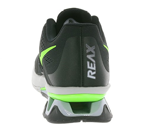 Nike Reax Lightspeed, Baskets Basses Homme, Noir (Schwarz), 41 EU Noir - Negro (Negro (Black/Electric Green-Wolf Grey))