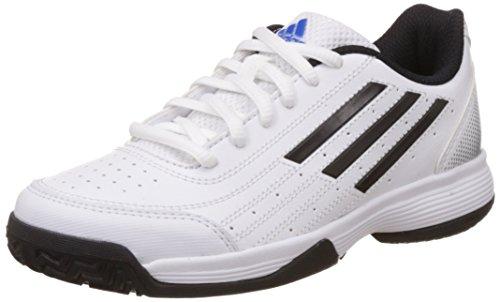 adidas Performance Unisex-Kinder Sonic Attack K Tennisschuhe, Weiß (Ftwr White/Core Black/Matte Silver), 35 EU