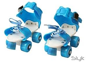 SLYK pro lite Roller Skates Shoes for Kids/Childrens - Unisex (Blue)