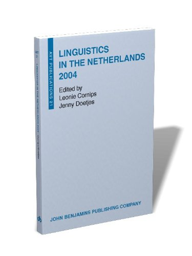 Linguistics in the Netherlands 2004