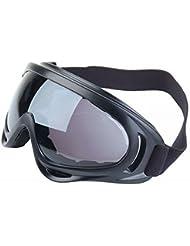 X400Espejo Oscuro Lente Protección Ultravioleta Sport motocicleta gafas de esquí y snowboard de Airsoft, Paintball Gafas de seguridad