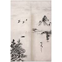 Cortina tradicional japonesa del dormitorio de la cortina de Noren de la entrada japonesa del estilo chino, # 09