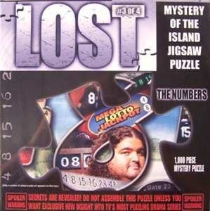 Click for larger image of Lost - The Numbers Jigsaw Puzzle1000pc