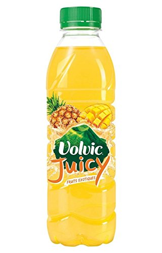 Volvic Juicy Exotique 50cl (pack de 24) - Eau De Fruits