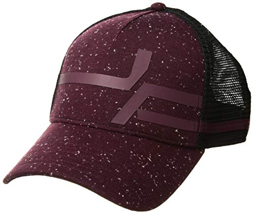 Under Armour Herren Macro Pro Fit Trucker, Herren, Hut, Men's Macro Pro Fit Trucker, Dark Maroon (600)/Dark Maroon, One Size Fits All Pro Trucker Hut