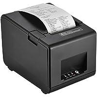 Aibecy Impresora de código de barras del recibo térmico GP-L80160I con cortador Ancho de impresión de 160 mm / s 80 mm para el restaurante Cocina USB POS Ordenador
