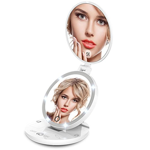 giwox-lighted-travel-makeup-mirror-led-5x-1x-double-sided-touch-screen-magnifying-vanity-mirror-illu