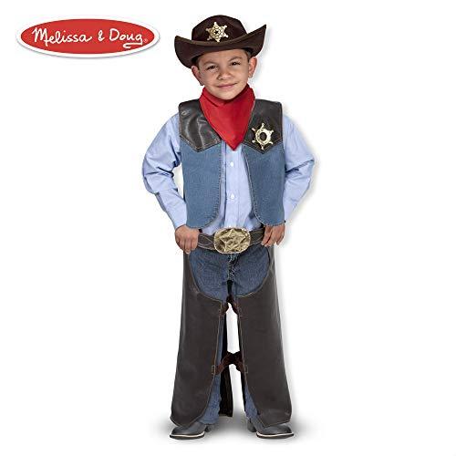 Melissa & Doug Kinderkostüm Cowboy (Mädchen Billig Cowboy-hut)