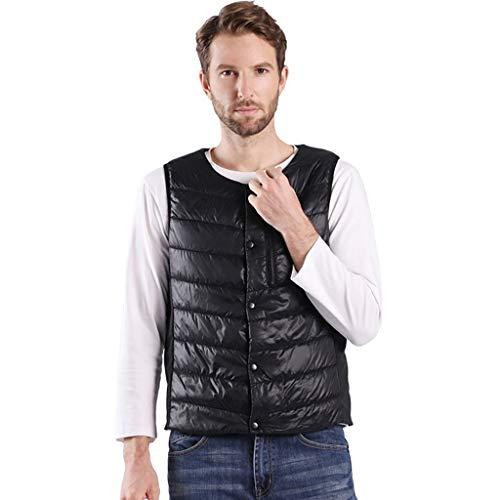 Madmoon Herren Smartphone Bluetooth Verbindung Temperaturregelung Heizung Weste Bluse Outdoor USB Lade Beheizter Kleidung Warmer Down Vest Beheizte Kleidung Steppjacke