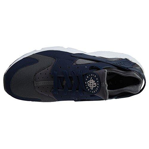 Nike Air Huarache, Scarpe da Ginnastica Uomo Dark Grey/Midnight Navy