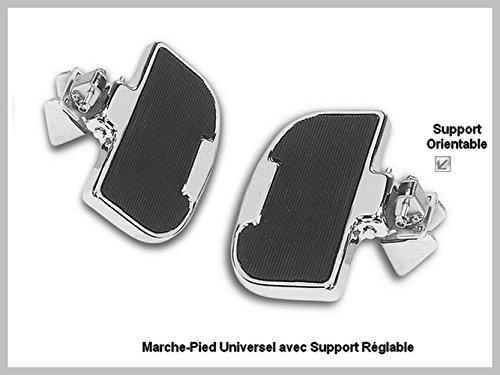 Trittbrett für Motorrad Universal, für Fahrer oder Beifahrerseite - Stahl-trittbrett