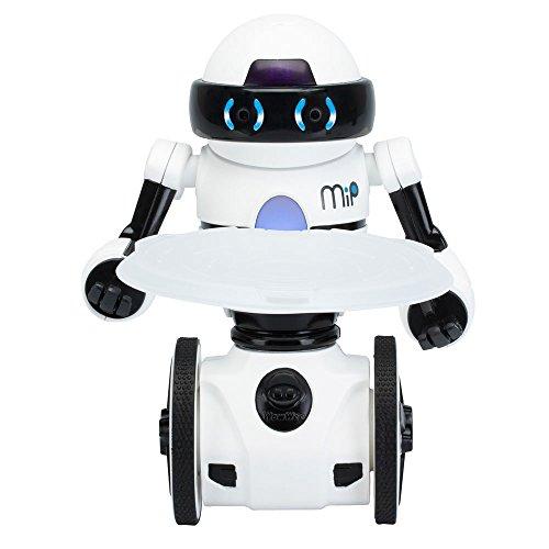 WowWee 5821 MiP Balancierroboter mit Tablett und kostenloser App, Weiß