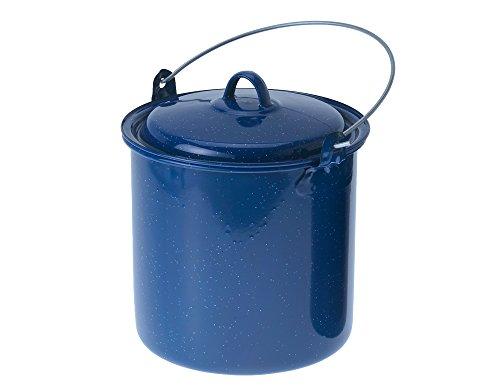 GSI Outdoor gerade Kochtopf mit Deckel (blau, 3.5-Quart) (Camping Schnellkochtopf)