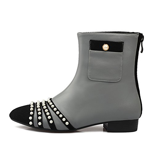 Nine Seven Bottines - Stivali Donna Grey
