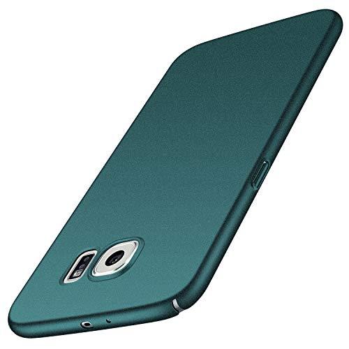 Avalri für Samsung Galaxy S6 Hülle, Ultradünne Handyhülle Hardcase aus PC Stoß- & Kratzfest Kompatibel mit Samsung Galaxy S6 (Kies Grün)