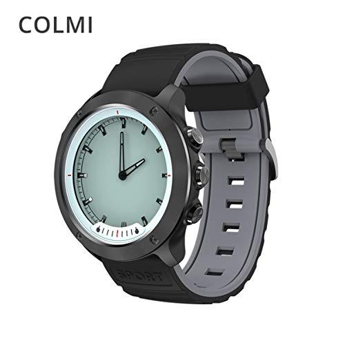 COLMI M5 Smart Watch Männer Clear Screen Pulsmesser Wasserdichte Edelstahluhr Smartwatches Für IOS Android
