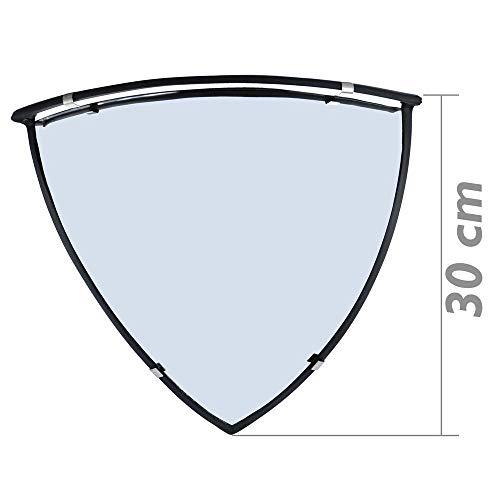 PrimeMatik - Espejo convexo de seguridad y vigilancia de techo semiesférico 90° 60cm