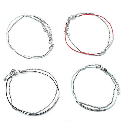 GOTH Perhk BTS KPOP Bangtan Boys Armband Mode Kette Armbänder Armband Schmuck, Schönes Geschenk für BTS Kinder, BTS Mädchen, BTS Fans(V) Jacken Fan