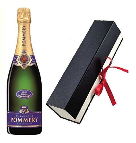 Pommery Champagner Royal Brut in Geschenkfaltschachtel 12,5% 0,75l Flasche