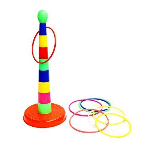 Set gioco anelli da lanciare Dazzling Toys (D192)