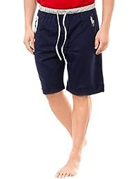 Polo Ralph Lauren Homme No 3 Waistband Logo Sleepshorts, Bleu