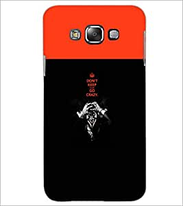 PrintDhaba Quote D-5745 Back Case Cover for SAMSUNG GALAXY E7 (Multi-Coloured)