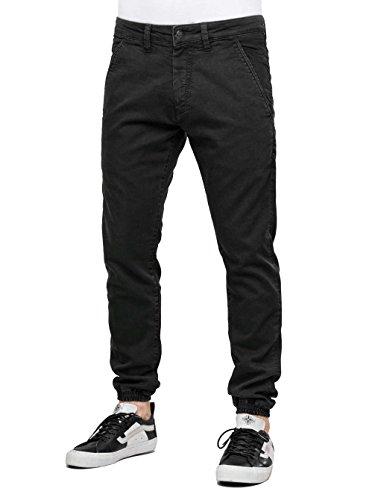 REELL Pant Jogger Pant Artikel-Nr.1100 - 1037 Premium Black Denim