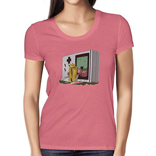 TEXLAB - The Princess - Damen T-Shirt Pink