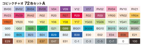 Compare Prices for Copic Set A Ciao Marker (Pack of 72) on Line