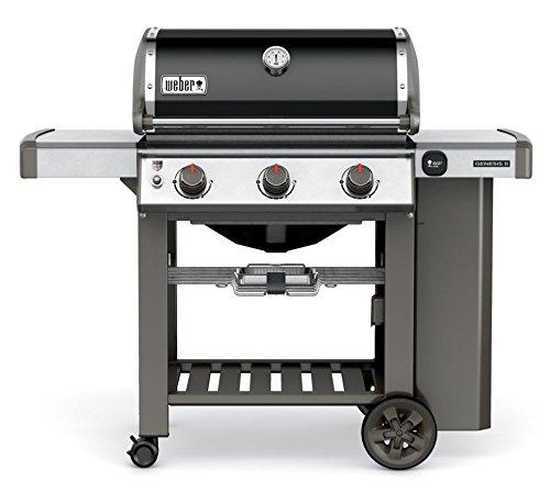 Weber - 61010153 - Barbecue à gaz sur Pieds 3 Feux 11kw Genesis II e-310 gsb