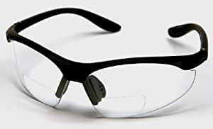 BI-FOCAL SAFETY READING GLASSES STRENGTH 1.5 DIOPTRE