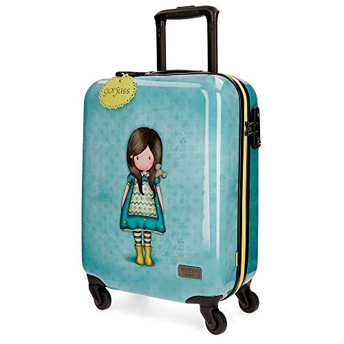 Gorjuss The Little Friend Valigia per bambini, 55 cm, 33 liters, Verde