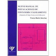 Nuevo manual de instalaciones de fontaneria y saneamiento