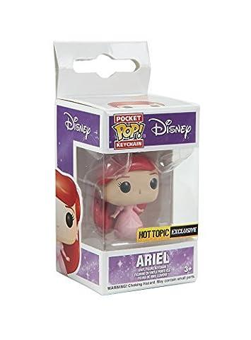 Funko Disney The Little Mermaid Pocket POP! Ariel (Dress) Key Chain Hot Topic Exclusive by POCKET