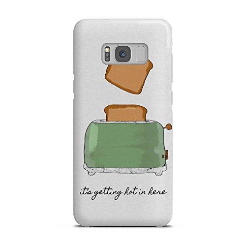 artboxONE Samsung Galaxy S8 Premium-Case Handyhülle It's Getting Hot in Here von Orara Studio
