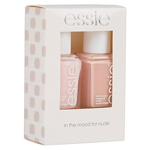 2er-Set Lacke In the Mood For Nude (6 Ballet Slippers + 312 Spin The Bottle) - Nagellack ESSIE -