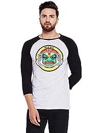 7f54023bafe Haul Apparel Kathakali Black Sleeves Baseball T-Shirt