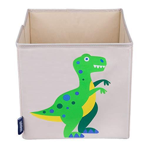 Wildkin W640412 Aufbewahrungswürfel für Kinder, Dinosaurier, Beige