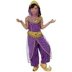 LIBROLANDIA Disfraz de árabe para niña, talla 7-9 años (12184)
