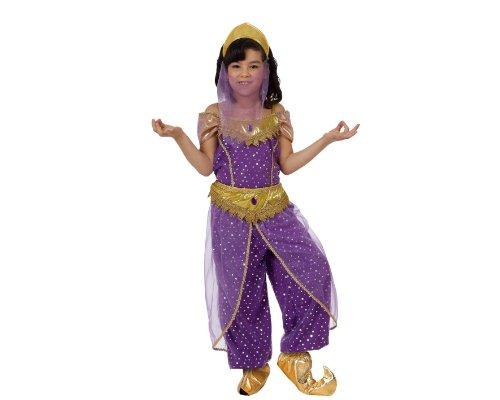 ATOSA 12185 Verkleidung Arabische Tänzerin, Größe 10-12 Jahre, Mädchen Mehrfarbig