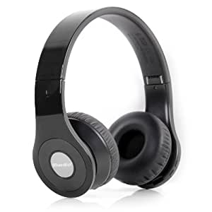 Bluedio Model B - Wireless and Bluetooth Stereo Headphones w/ FM Radio/ SD Cared (Black)