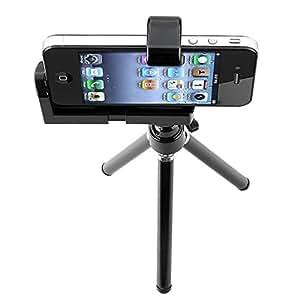 SODIAL(TM) Mini treppiede regolabile fotocamera Supporto per cellulare Iphone e altri