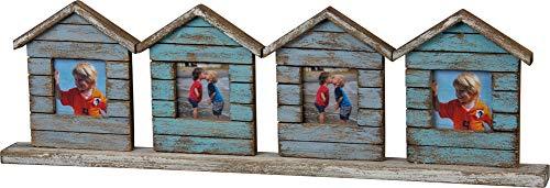 Primitives by Kathy Bilderrahmen, verwittertes Holz, für 4 Fotos, 52,1 x 15,2 cm (Primitive Bilderrahmen)
