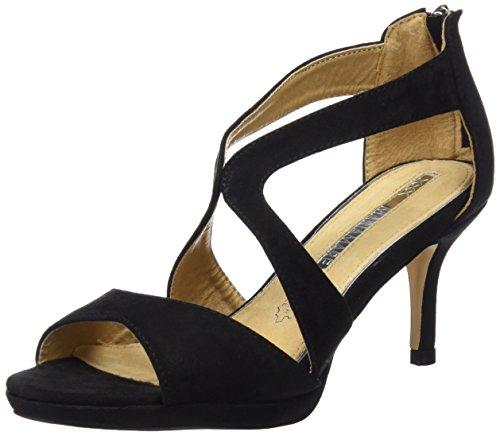 Maria Mare 66212 - Sandalias de tacon para mujer, color negro, talla 39