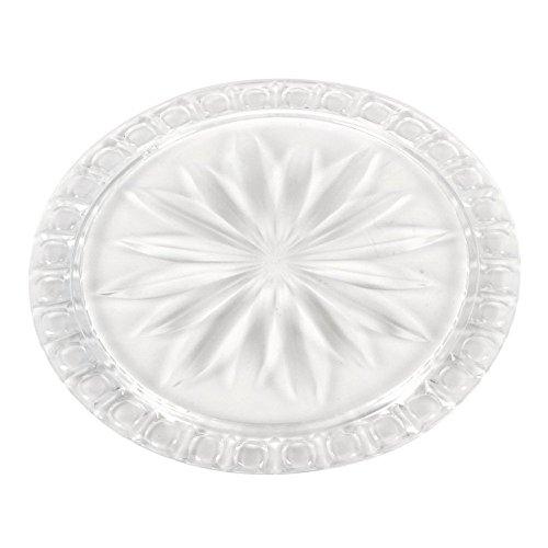 Westmark 34552211 Plat à gâteau Polystyrène Transparent 31,5 x 31,5 x 1,7 cm