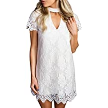 374c41f557d1 Vestiti Donna Estivi Puro Mini Retro Elegante Colore Moda Vestiti  Abbigliamento Festivo Casual Linea Ad A