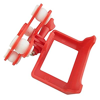 MagiDeal Camera Fix Frame Holder Shockproof Platform For Syma X8C X8W X8G Drone Red