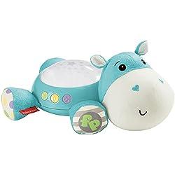 Fisher-Price Hipopótamo Dulces sueños, Juguete de Cuna para bebé (Mattel CGN86)
