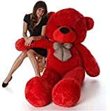 Shivay International - Red Big Size Teddy Bear for Kids, Girls Playing & Couples Gift in 3 feet Long Size